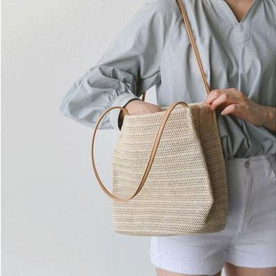 뚜앙 여성 라탄백 왕골가방 여름가방 숄더백