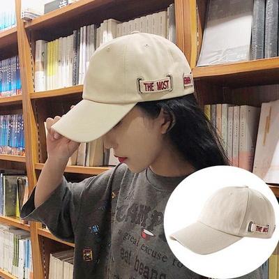 컴온 여성 레터링 얼굴소멸 볼캡 연예인모자
