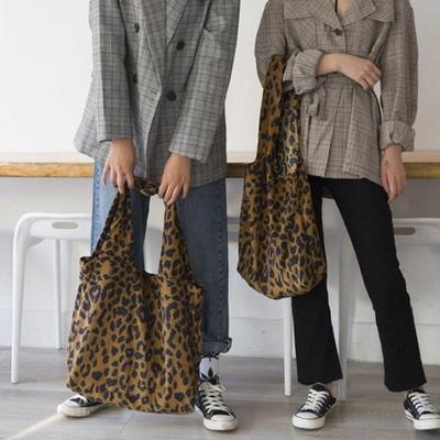 스캇 호피 가을 에코백 천가방