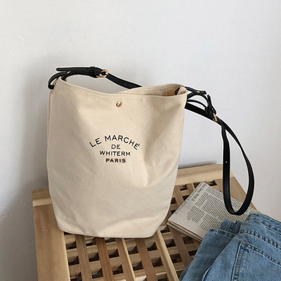 코튼 여성 에코백 데일리 캔버스백 숄더백 천가방