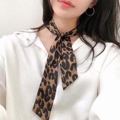 앙스 호피무늬 쁘띠 스카프