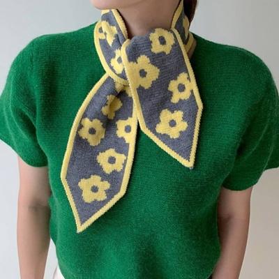 온리 플라워 여성 스카프 머플러 가을 겨울