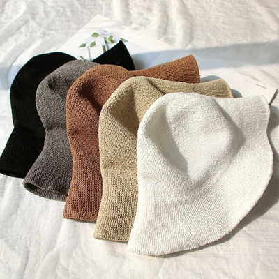 트릴 와이어 버킷햇 여름자외선 차단 모자