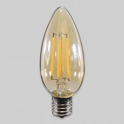 LED 에디슨 촛대구 비츠온 4W E17 전구 KS에디슨램프