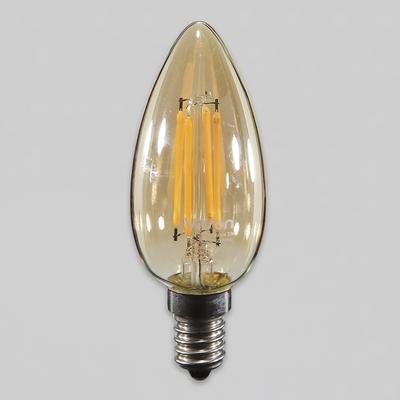 LED 에디슨 촛대구 비츠온 4W E14 전구 KS에디슨램프