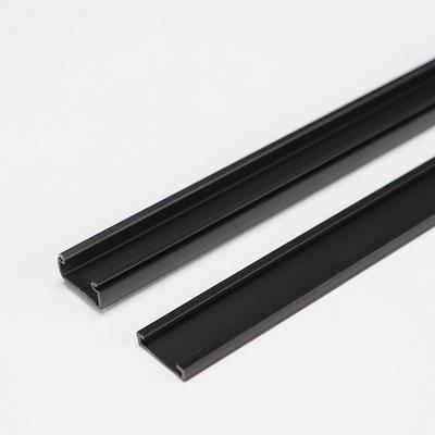 몰딩 쫄대 전선정리대 사각몰딩 흑색 4호