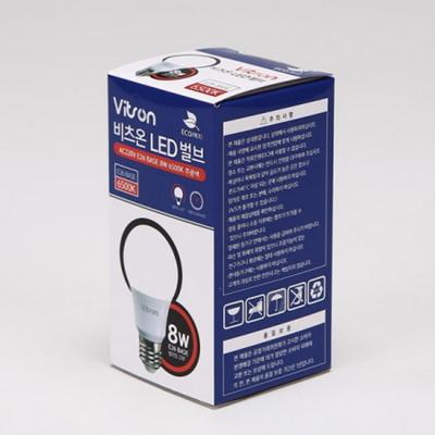 LED벌브 8W 비츠온 주광색램프