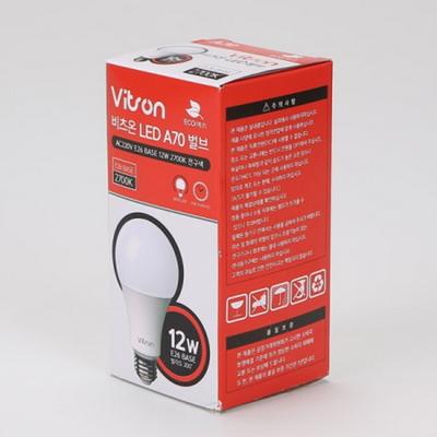 LED벌브 12W 비츠온 전구색램프
