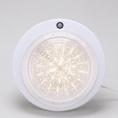 LED원형아크릴센서등 15w 전구색상