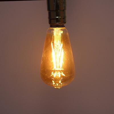 에디슨LED램프 ST64 전구색