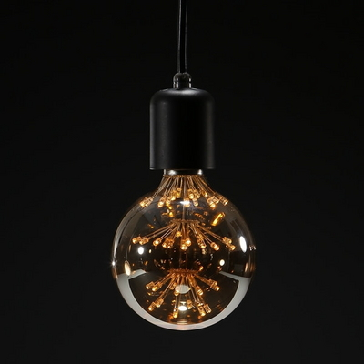 LED눈꽃 에디슨램프 동성 G95 전구색 2.5W