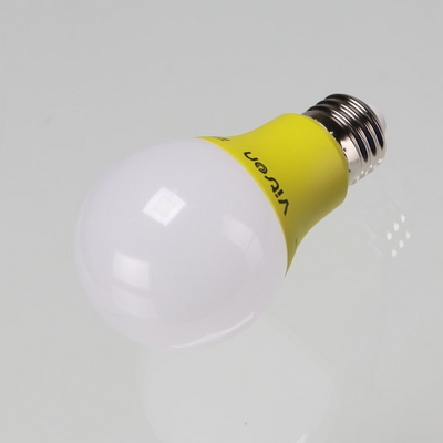 LED 벌브(칼라) W E26 A60 3W 옐로우 비츠온