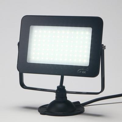 LED 사각 투광기 블랙 슬림 30W 노출형 주광색 KC 비츠온