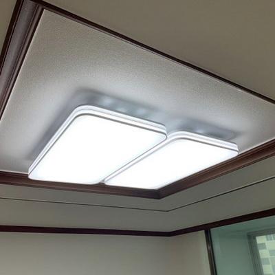 LED 화이트 거실등 120W