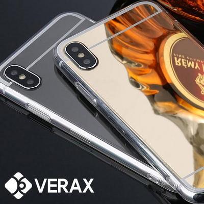 아이폰XS 슬림 젤리 정품 미러케이스 (P074)