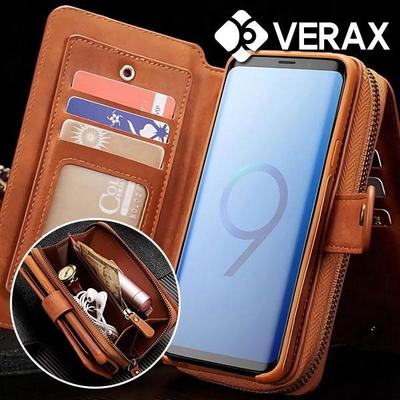 갤럭시S10플러스 BRG 카드수납 지갑 가죽케이스/거울내장 (P017)
