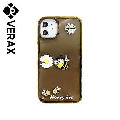 아이폰11 플라워 워터 쉐이커 젤리 케이스 P516