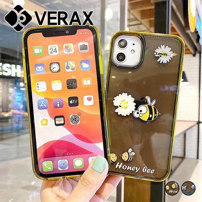 아이폰XS 플라워 워터 쉐이커 젤리 케이스 P516