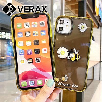 아이폰X 플라워 워터 쉐이커 젤리 케이스 P516
