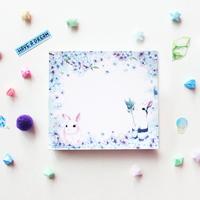 떡메모지 - 블루토끼