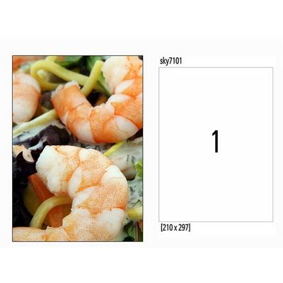 사진 라벨지 잉크젯 유광 전지 100매