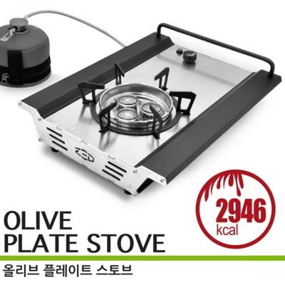 올리브 플레이트 스토브/원버너 플레이트 /가방포함