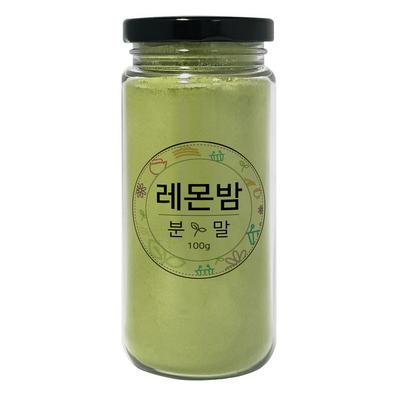 국내산 레몬밤 분말100g-예약주문 순차배송