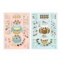 인포그래픽 포스터 - 케이크 X 초콜릿