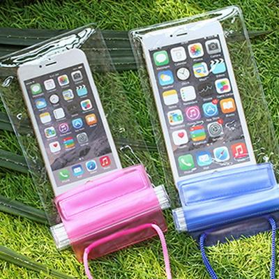 스마트폰 핸드폰 보관 다용도 3단지퍼 잠금 방수팩