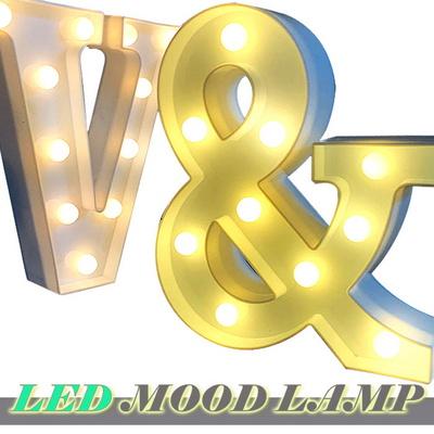 알파벳이니셜 LED조명 무드등 인테리어 이벤트소품