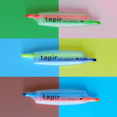 트윈 하이라이터 형광펜
