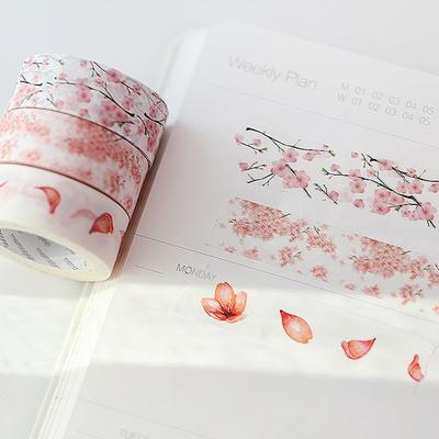 모모마테 제주 벚꽃나무 마스킹테이프
