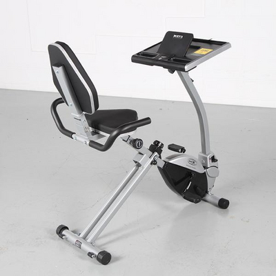 [바디엑스] 2in1데스크 바이크, 가정용 고급 실내자전거,헬스자전거,홈바이크
