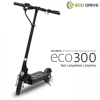 [AU테크] 에코드라이브 전동킥보드 ECO300 블랙