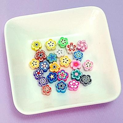 꽃잎 폴리머 비즈 (20개 1세트)