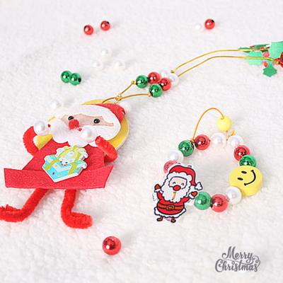 크리스마스 목걸이와 팔찌 세트(10set)