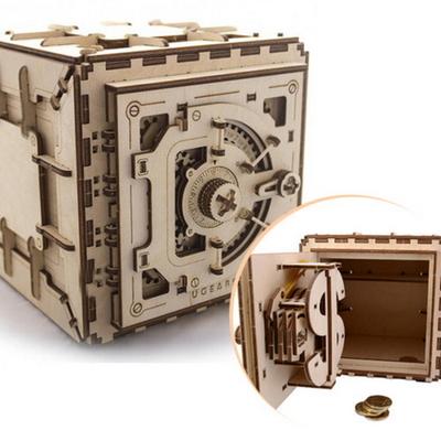 만들기세트 3D작동 입체퍼즐 -금고