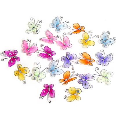 스타킹 미니 나비(10개 1set 랜덤구성)