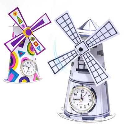 [탑키드] 만들기 풍차 시계 (1인용)