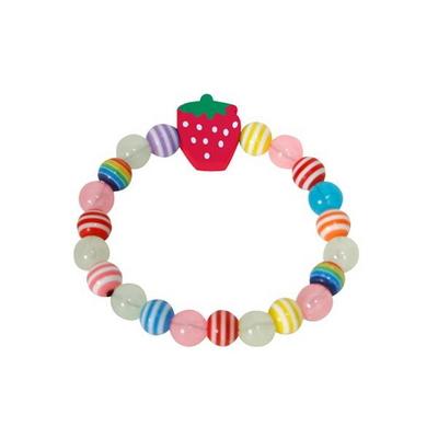DIY 유아만들기 야광딸기 팔찌 만들기재료 유아만들기재료
