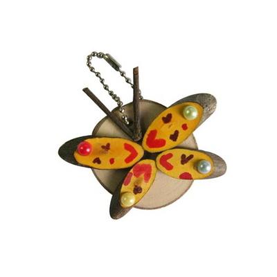 아트펀치 만들기수업 나비 가방고리만들기 10인용