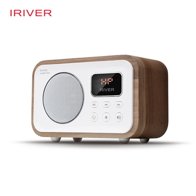 아이리버 IR-R1000 WOODEN BOX 블루투스 라디오 스피커