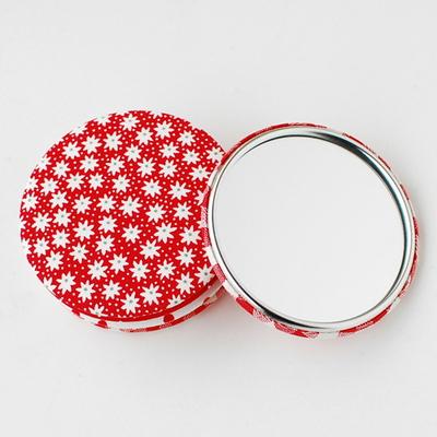 리코코 패브릭 손거울 - 003 (red)