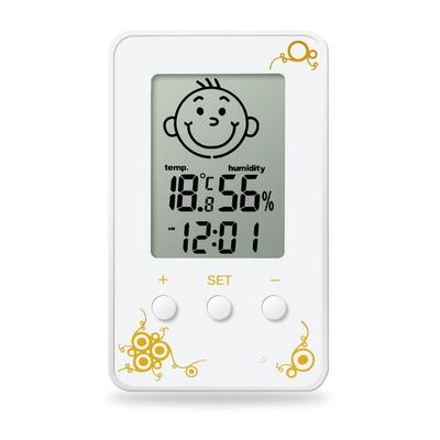 스마일 아이콘 온습도계 HM-SP06