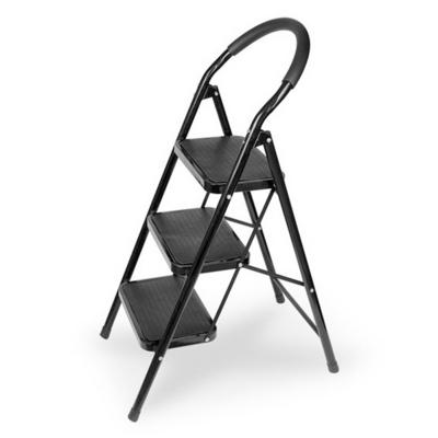 접이식 계단형 사다리 (블랙) 하중90kg