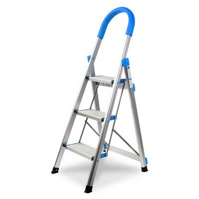 알루미늄 계단형 사다리 (블루)