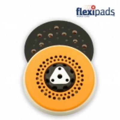 FE544 플렉시패드 싸이클론 백업패드(5/16+M8) 소프트 125mm(5