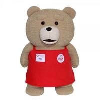 19곰 테드 앞치마 입은 영화 속 곰인형 50CM 레드