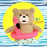19곰 테드 여름한정 플라밍고튜브 테드 30CM