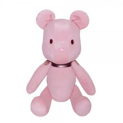 젠틀브릭스 360도 관절 곰인형 핑크 28CM